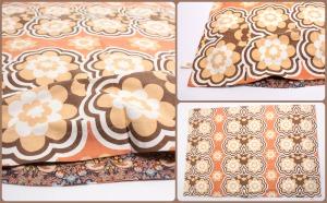 brunt sengetøj Collage